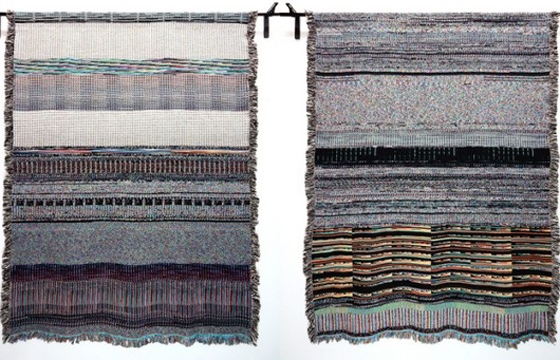 Glitch Art Textiles by Phillip Stearns