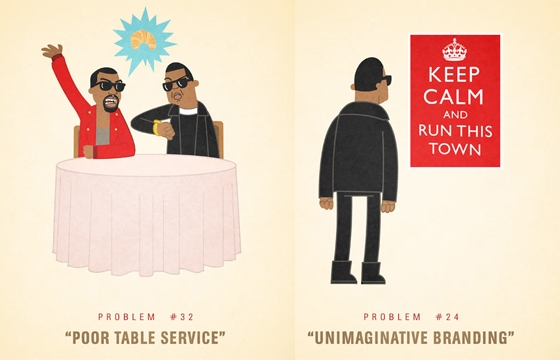Jay-Z's 99 Problems Illustrated by Ali Graham