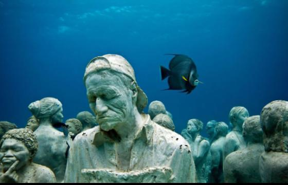 The Underwater Sculpture Coral Reef of Jason de Caires Taylor