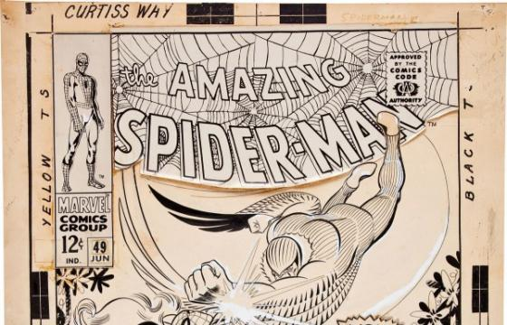 John Romita Spider-Man #49 cover art goes for $167,300 at auction