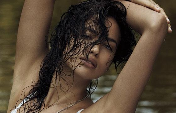 Cooling Off With Irina Shayk