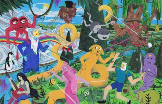 Imaginative Paintings from Brecht Vandenbroucke