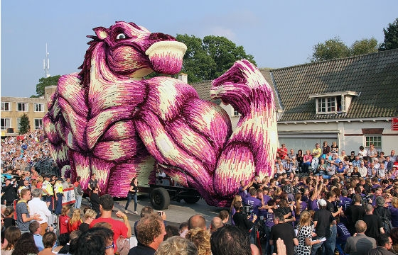 World's Largest Flower Parade, Corso Zundert