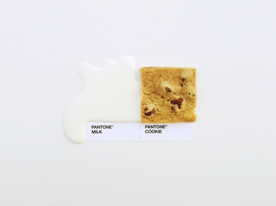 David Schwen's Pantone Food Matches