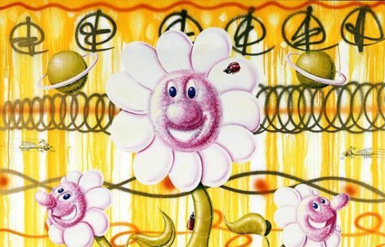 Kenny Scharf at Paul Kasmin Gallery in NYC