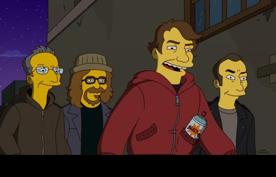 "Shepard Fairey, Ron English, Kenny Scharf and Robbie Conal to appear on ""The Simpsons"""