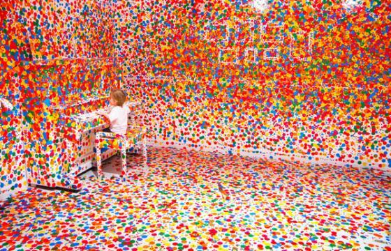 Thousand Stickers, Thousand Kids, One Room in Brisbane