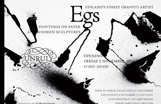 Egs @ Unruly gallery in Amsterdam