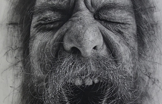 Douglas McDougall's Charcoal Drawings