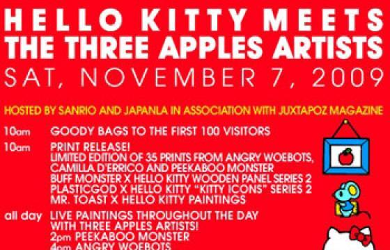Meet the Three Apples Artists in Person