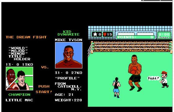 Mike Tyson's Punch-Out Poster