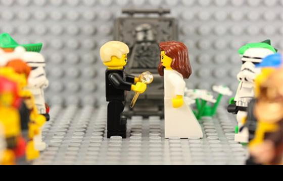 The LEGO Stop-Motion Marriage Proposal