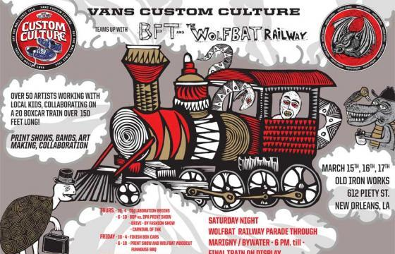 Dennis McNett x Vans Custom Culture 2012