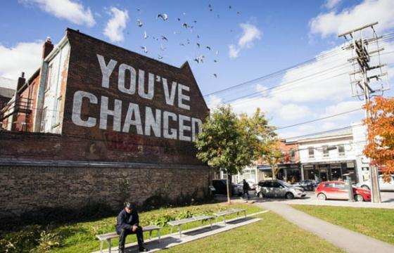 """You've Changed"" Mural by Jesse Harris"