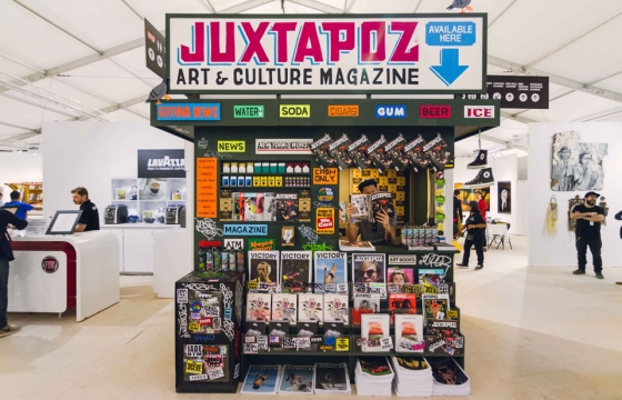 Juxtapoz Newsstand by Grotesk @ SCOPE Miami 2014