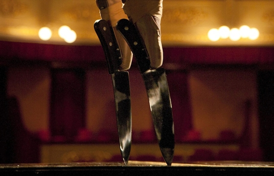 A Ballerina Dances with Daggers on Her Shoes