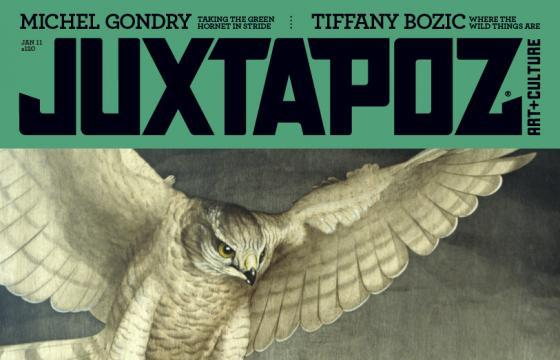 An in-depth look at the January 2011 Juxtapoz featuring Tiffany Bozic