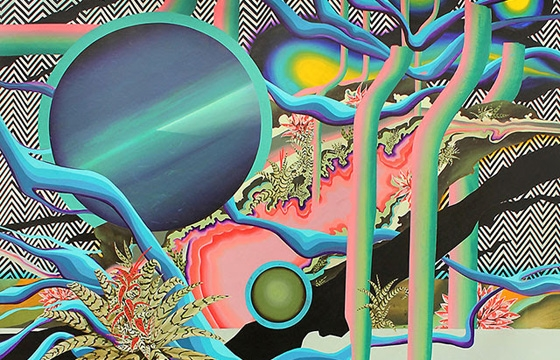 "Bruno Novelli (9Li) ""Materia Radiante"" @ David B Smith Gallery, Denver"
