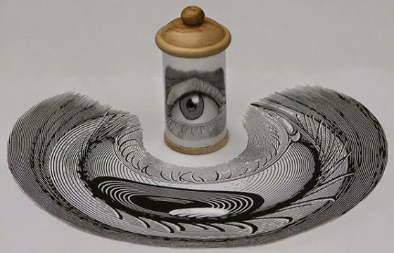 The Anamorphic Illustrations of István Orosz
