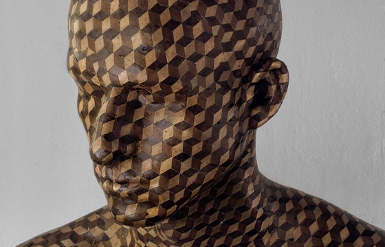 "Levi Van Veluw's ""In the Veneer"" Scuptures"