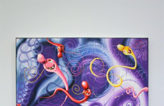 In L.A.: Kenny Scharf @ Honor Fraser