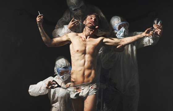 Paintings by Mitch Griffiths