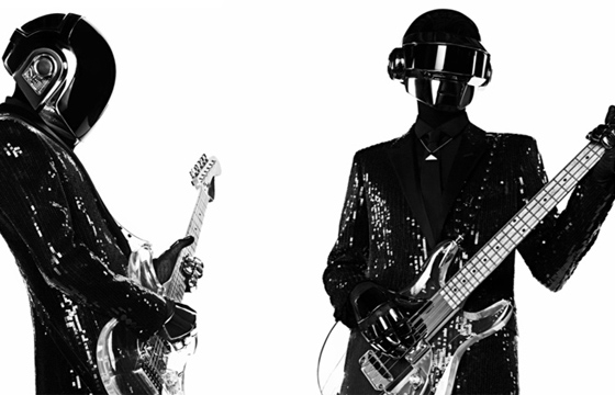 Daft Punk X Hedi Slimane for Saint Laurent