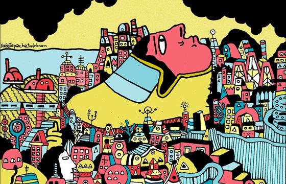 Trippy Works by Rodrigo Simancas
