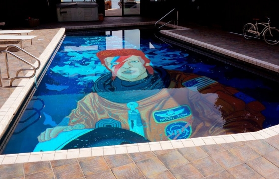 Juxtapoz Magazine Watch Ten Hundred Paints David Bowie