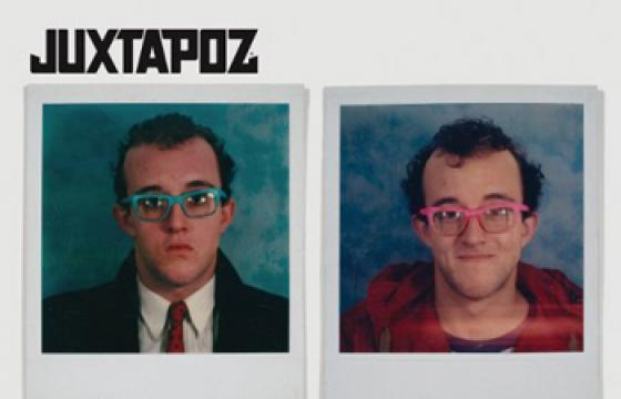 New Juxtapoz June 2010 Issue with Keith Haring