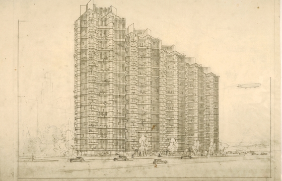 Frank Lloyd Wright and the City: Density vs. Dispersal @ MoMA