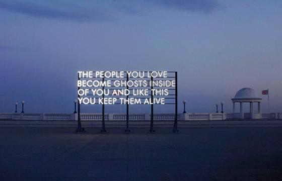Billboard Typography by Robert Montgomery