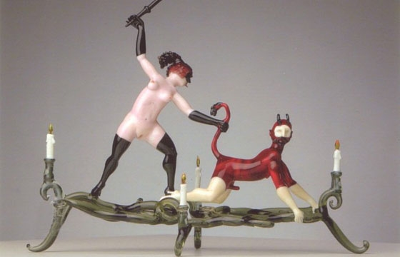 Lucio Bubacco's Erotic Glassworks
