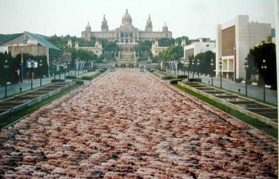 Spencer Tunick: Nudes in Numbers