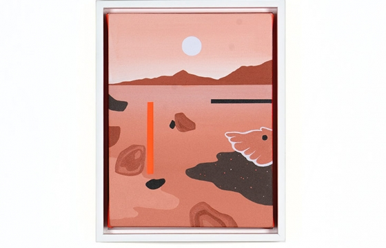 Life On Mars: Madeleine Tonzi Combines Landscapes, Architecture and Abstraction @ Hashimoto Contemporary SF