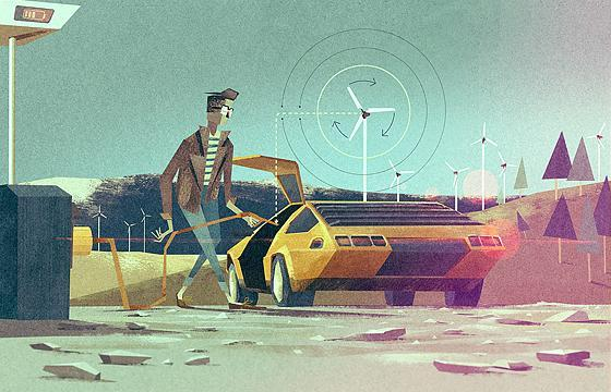 In the Future: Illustrations by Matthew Lyons