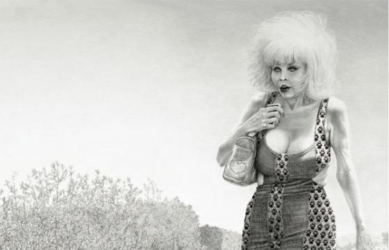 "Laurie Lipton ""L.A. Sous-Real"" @ Ace Gallery, Los Angeles"