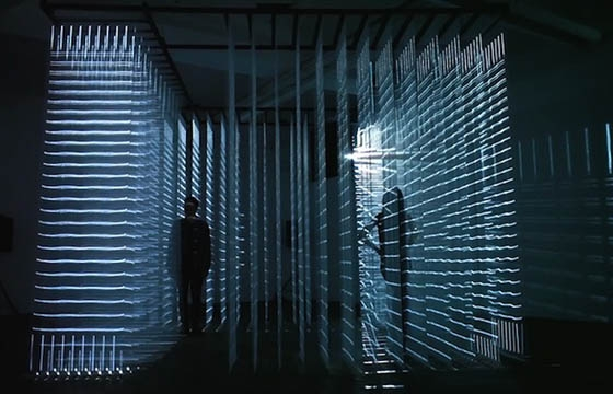 Nonotak Studio's Installation Hypnotizes and Traps Vistors in a Light Prison