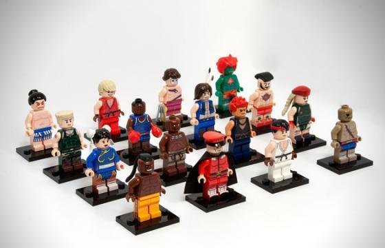 LEGO Street Fighter Set