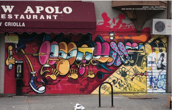 Converse x Juxtapoz: Wall To Wall Brooklyn featuring Jersey Joe