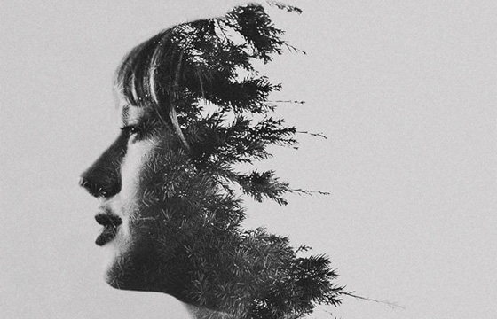 Multiple Exposure Portraits by Sarah K. Byrne