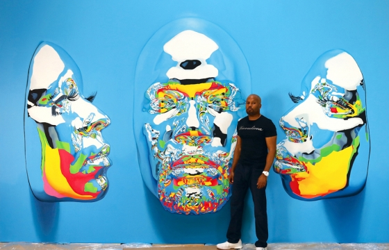 Juxtapoz Magazine - The Diovadiova—Avoid a Void: Kip Omolade Preps New Solo Pop-Up Show For NYC in Fall