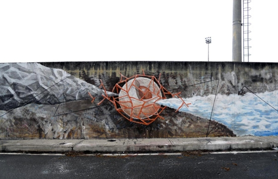 New Mural by G.Loois in Lamezia Terme, Italy