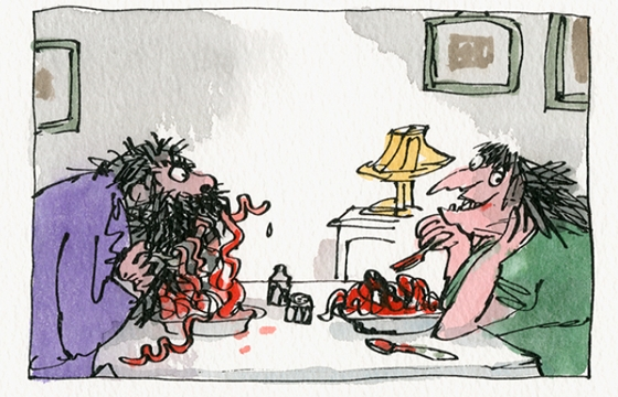 "Quentin Blake ""Inside Stories"" @ House of Illustration, London"