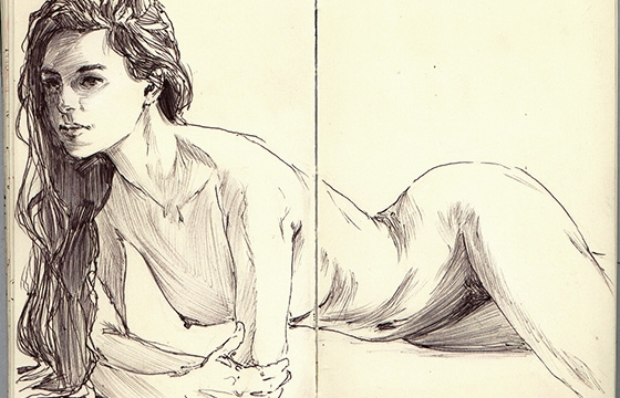 Figure Drawings by Joe Whyte