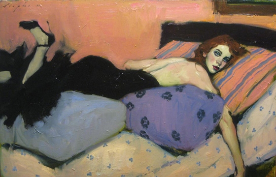 Malcolm Liepke's Young Ingenues