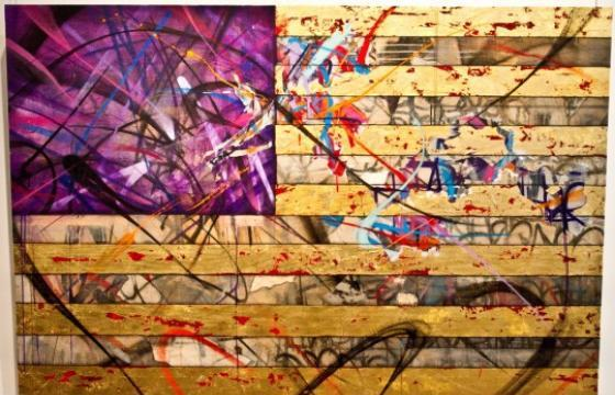 "New Works by Saber: ""The American Graffiti Artist"" at Opera Gallery"