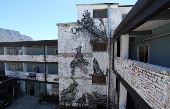 New Dal Mural in Cape Town, South Africa