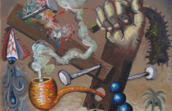 Isolation Paintings: Matthew Couper @ Paul Nache Gallery, Gisborne, New Zealand