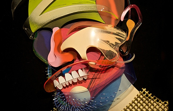 Dimensional Painting and Sculpture by Adam Neate
